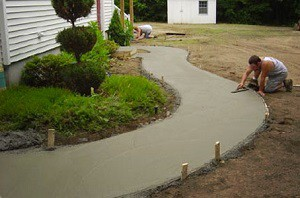 betonjárda készítése