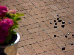 kerti beton térkő burkolat