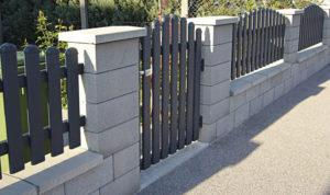 Semmelrock Rivago beton kerítés fedlap