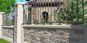 kerítés burkolat