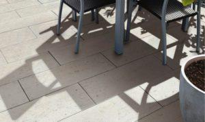 Lusso Tivoli krémfehér teraszburkolat