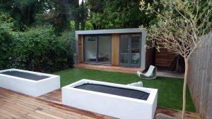modern városi kert