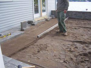 térkövezés előtti feladatok