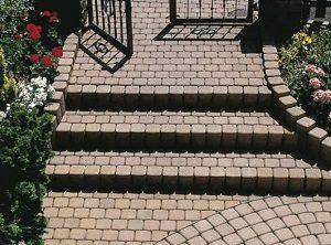 Classico lépcső cölöpökből